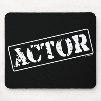 Actor Stamp Mouse Pad