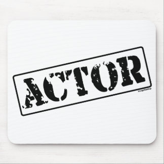 Actor Stamp Mousepad