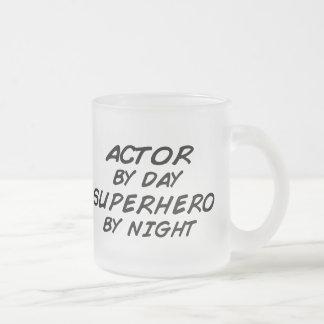 Actor Superhero by Night Mugs