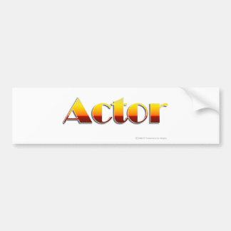 Actor (Text Only) Bumper Sticker