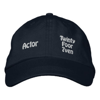 Actor - Twinty Foor 7ven Embroidered Baseball Caps