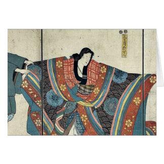 Actors by Utagawa,Kuniyoshi Card