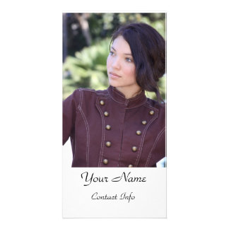 Actors Headshot Card Custom Photo Card