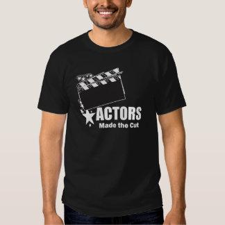 Actors Made the Cut T Shirts