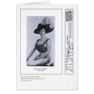 Actress Ellis Jeffreys Greeting Card
