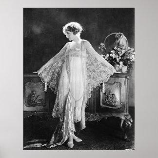 Actress Lillian Gish Poster
