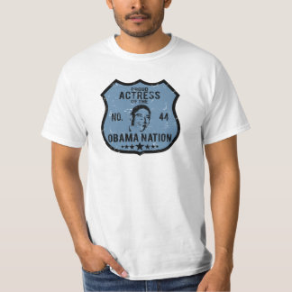 Actress Obama Nation Tshirt