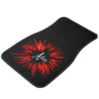 Actress Star Explosion Car Mat