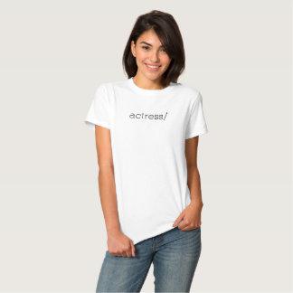 actress/ t-shirt