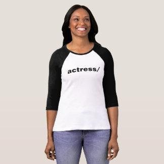 actress/ tee shirt