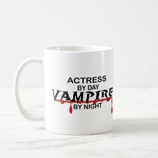 Actress Vampire by Night Coffee Mug