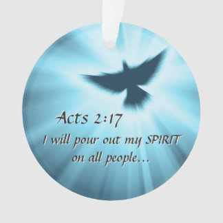 Acts 2:17 I will pour out My Spirit, Bible Verse