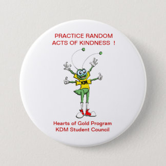 Acts of Kindness 7.5 Cm Round Badge