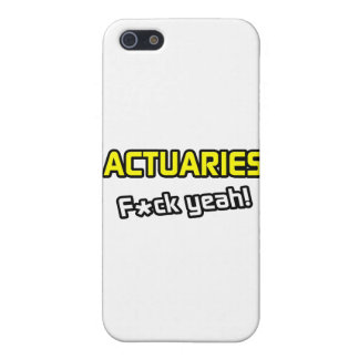 Actuaries ... F-ck Yeah! Covers For iPhone 5