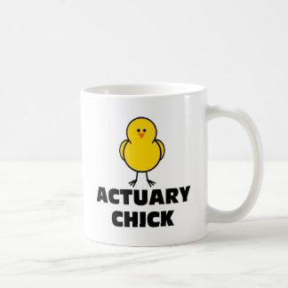 Actuary Chick Coffee Mug