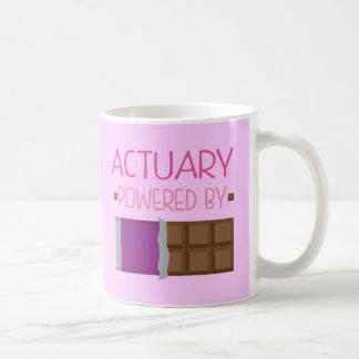 Actuary Chocolate Gift for Woman Coffee Mug