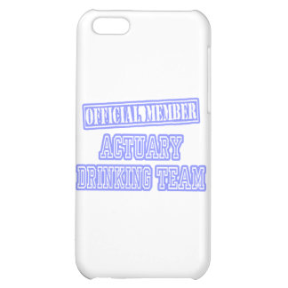 Actuary Drinking Team Case For iPhone 5C