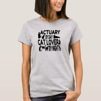 Actuary Loves Cats T-Shirt