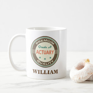 Actuary Personalized Office Mug Gift