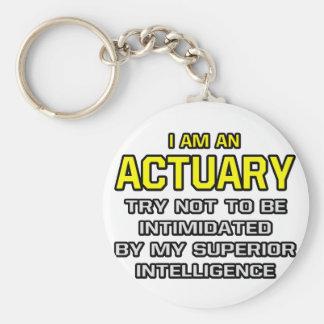 Actuary Superior Intelligence Keychain