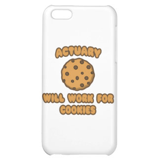 Actuary .. Will Work for Cookies iPhone 5C Covers