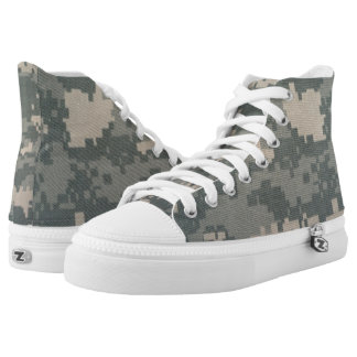 ACU Hip Top Sneaker Printed Shoes