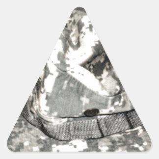 ACU Military Pattern Uniform Troops Peace Destiny Triangle Sticker