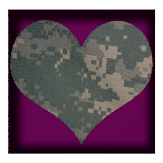 Acu Military Uniform Troops Camo Camouflage Posters