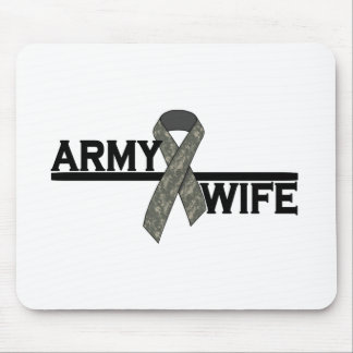 ACU Ribbon w/Army Wife Mouse Pad