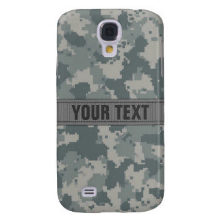 ACU Style Gray Camo #2 Personalized Samsung Galaxy S4 Case