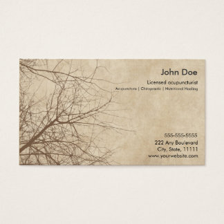500 acupuncture business cards and acupuncture business for Acupuncture business cards