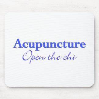 Acupuncture - Open the chi Mouse Pad