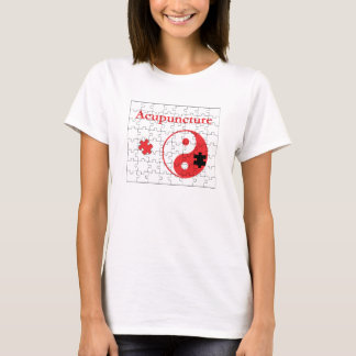 Acupuncture Puts The Pieces Together Yin Yang T-Shirt