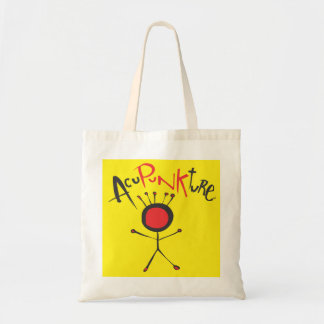 Acupunkture Tote Bag