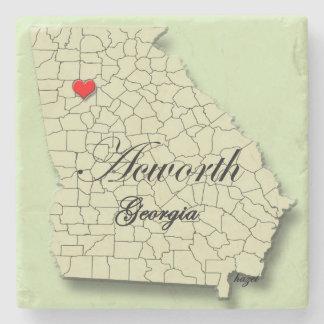 Acworth, Georgia, Map, Coasters