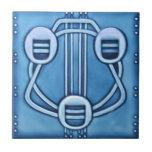 AD013 Art Deco Reproduction Ceramic Tile