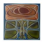 AD052 Art Deco Reproduction Ceramic Tile