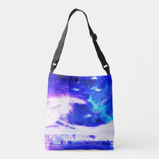 Ad Amorem Amisi Amethyst Sapphire Budapest Dreams Crossbody Bag