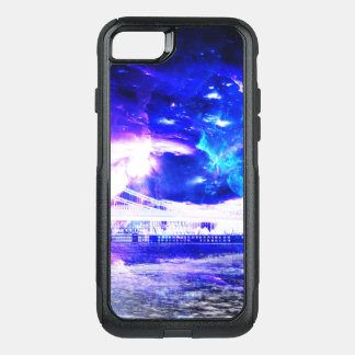 Ad Amorem Amisi Amethyst Sapphire Budapest Dreams OtterBox Commuter iPhone 8/7 Case