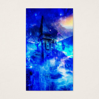 Ad Amorem Amisi Castle of Glass Business Card