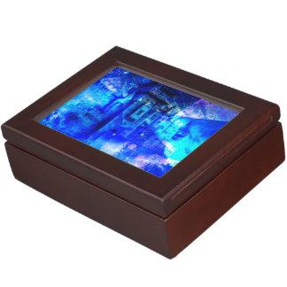 Ad Amorem Amisi Castle of Glass Keepsake Box