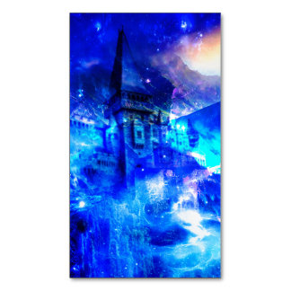 Ad Amorem Amisi Castle of Glass Magnetic Business Cards