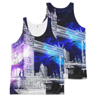 Ad Amorem Amisi London Dreams All-Over Print Singlet