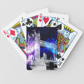 Ad Amorem Amisi London Dreams Bicycle Playing Cards