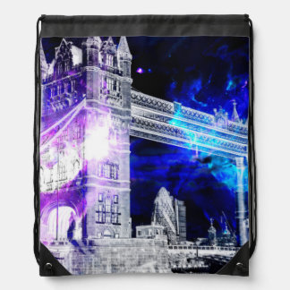 Ad Amorem Amisi London Dreams Drawstring Bag