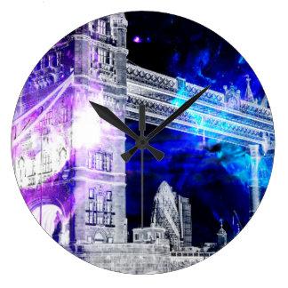 Ad Amorem Amisi London Dreams Large Clock
