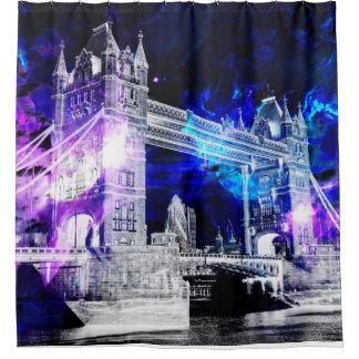 Ad Amorem Amisi London Dreams Shower Curtain