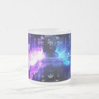 Ad Amorem Amisi Taj Mahal Dreams Frosted Glass Coffee Mug