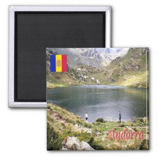 AD - Andorra - Estany de Tristaina de Baix Square Magnet