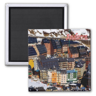 AD - Andorra - Panorama Magnet